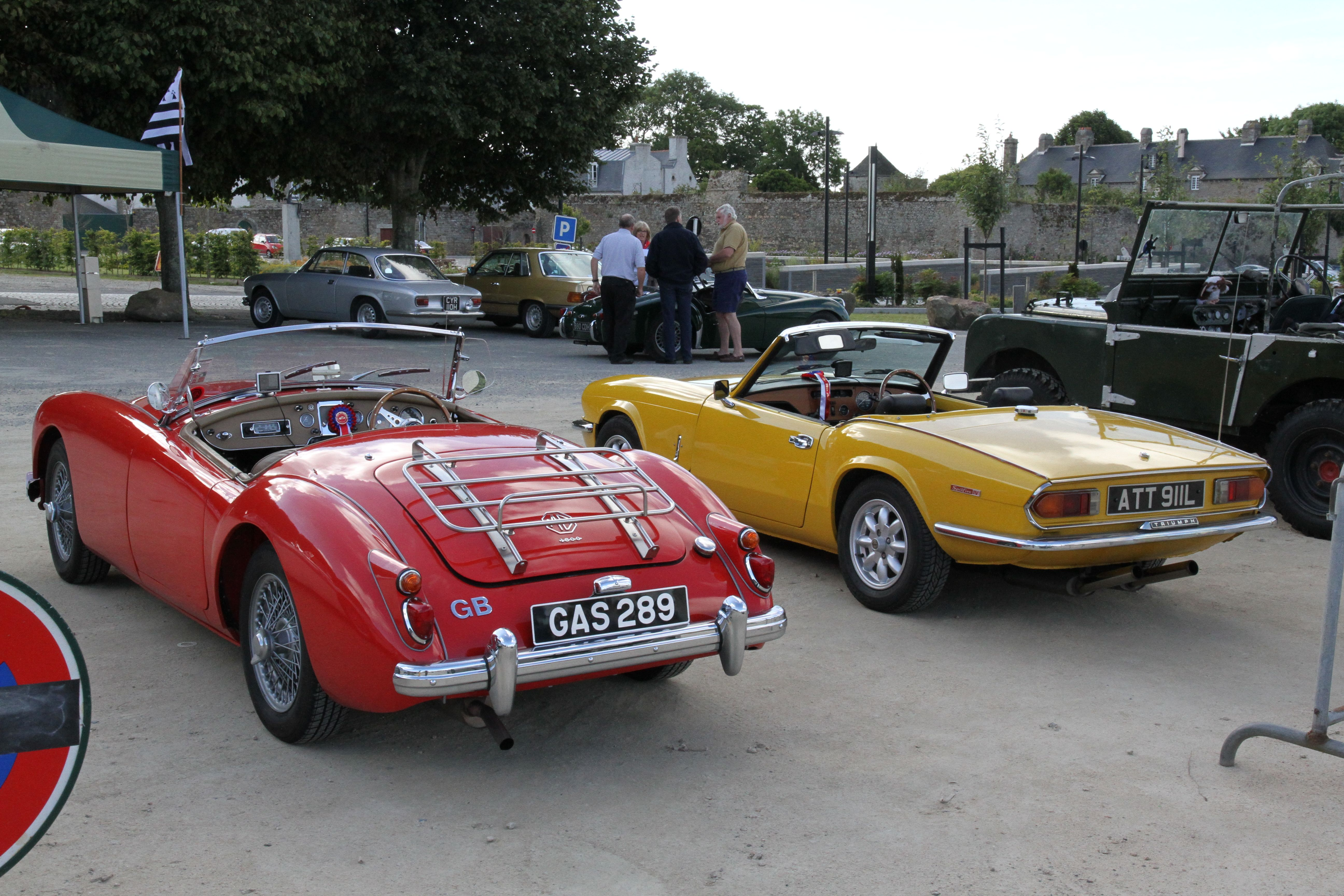Tour de Bretagne ~ Classic Car